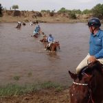 Horse Back Safari 2017: We Crossed the Mara River!